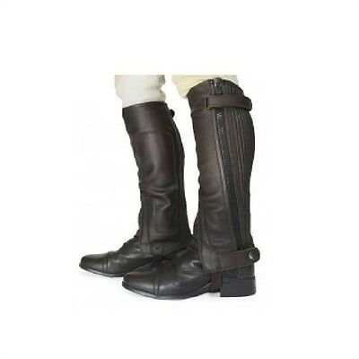 Just Chaps Leather Half Chaps