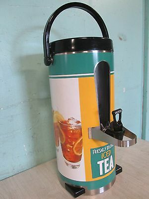"""FETCO"" COMMERCIAL HEAVY DUTY S.S. HOUSING 3gal ICED TEA/COLD BEVERAGE DISPENSER"