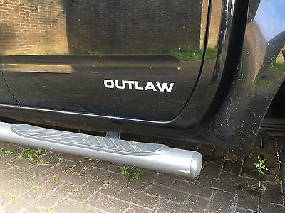 2x Nissan Navara Outlaw  Side Decals, Stickers, Graphics all colors.