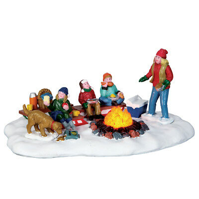 Sledding Potluck Lemax Christmas Village Table Accent - New For 2016