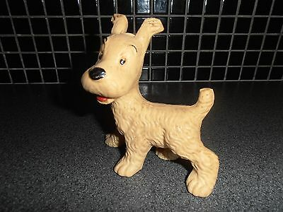 Tintin, Kuifje; very RARE MILOU squeeze 1960's and still working