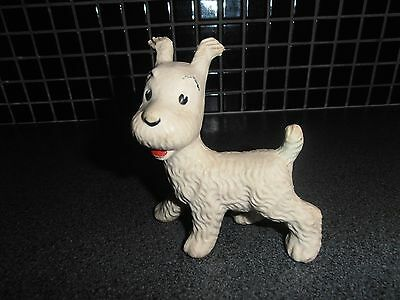 Tintin, Kuifje; very RARE MILOU squeeze 1960's with TINTIN point !!