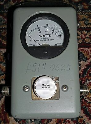 Bird Model 43 Thruline Wattmeter