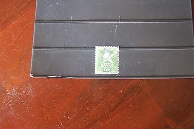 Hawaii 1893-4 Green 10c Fine Used, Value Stamp.