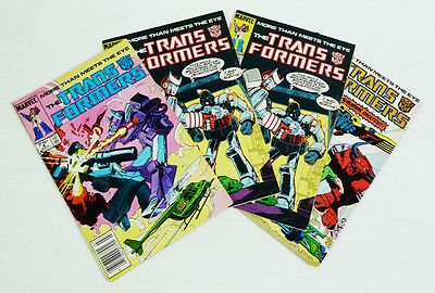 The Transformers Marvel Comic Book Lot
