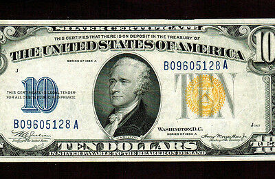 $10 1934A  (( North Africa )) Silver Certificate ** MORE CURRENCY 4 SALE**