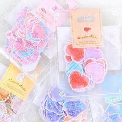 70pcs DIY Cute Paper Sticker Tag Diary Decoration Stickers Album Scrapbooking