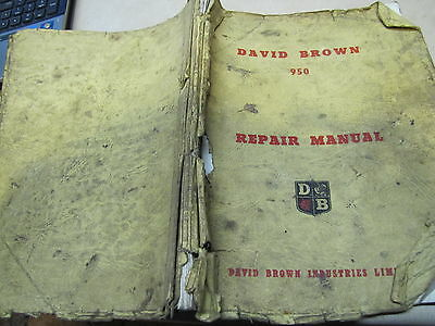 David Brown 950 Repair Manual