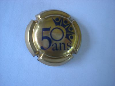 "capsule champagne Union Champagne ""50 ans""  new."