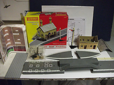 Original Boxed Vgc Hornby R8227 Accessories Pack 1 Country Station  Oo Gauge