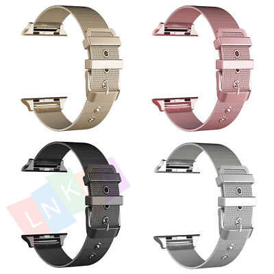 Milanese Loop Stainless Steel Strap Band for Apple Watch 38mm 42mm iWatch 1 2