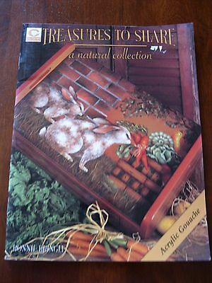 Treasures to Share: A Natural Collection: By Ronnie Bringle: 1998:  :Preloved