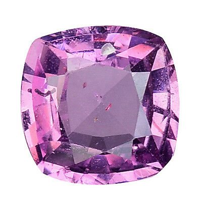 0.950 Cts Wonderful Luster Pinkish Purple Natural Sapphire Cushion Gemstones