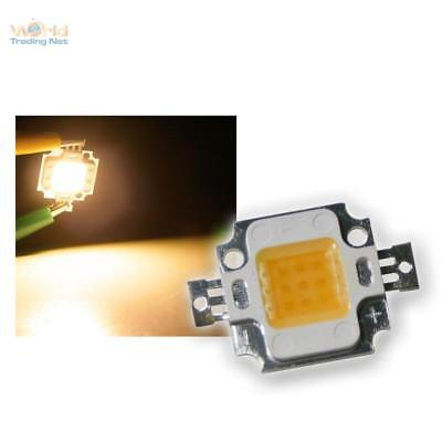 3 Pieces 10 Watt high power LED Chip warm white EPISTAR 1000lm Heavy-duty LEDs
