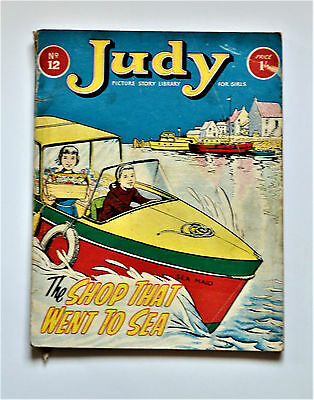Vintage 1960s Judy Picture Story Library Magazine Comic No. 12 Very Rare