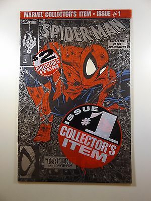 Silver Bagged Edition of Spiderman #1 McFarlane Art! Beautiful NM Condition!!