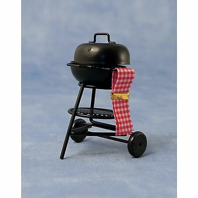 "Dolls House 1/12 Scale ""kettle"" Barbeque Grill"