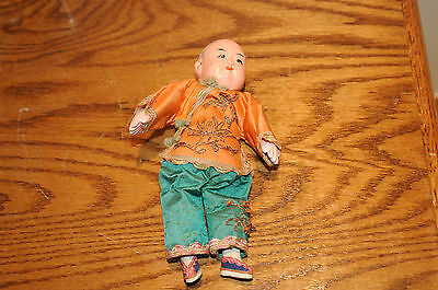 Antique Vintage Asian Celluloid Doll Clothing Chinese Japanese Dolls Ethnicities