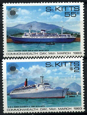 St. Kitts 1983 SG#108-9 Commonwealth Day MNH Set #D54470