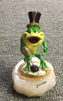 Ron Lee Signed & Numbered KERMIT THE FROG MUPPETS Sculpture FIGURINE 632/950