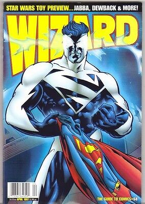 Wizard The Guide to Comics #68 Superman (1997) Wizard Publications
