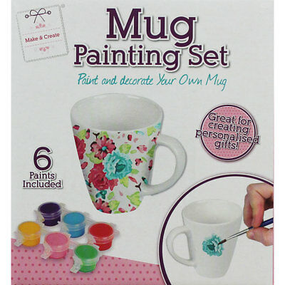Paint Your Own Mug Kit, Crafts for Kids, Brand New