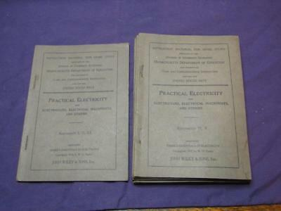 Practical Electricity for Electricians, Electrical Machinists & Others 1913 I-XX