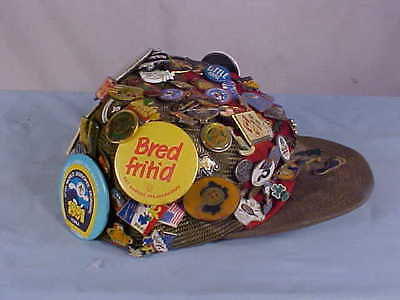 1.7 Pound Hat Full of Boy Scout Collectible Related Pins