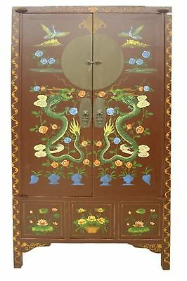 Chinese Antique Reproduction Cabinet Armoire YS266