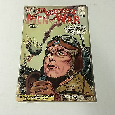 ALL AMERICAN MEN OF WAR #82 DC 1st JOHNNY CLOUD Appearance Key Issue #B