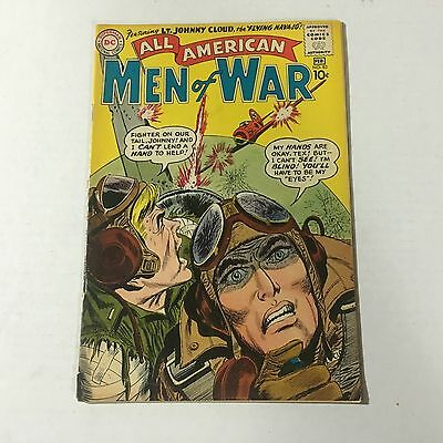 ALL AMERICAN MEN OF WAR #83 DC Comics Silver Age Key Issue 2nd Johnny Cloud