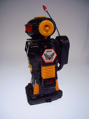 """GSR """"SPACE ROBOT WITH MICROPHONE"""" TAIWAN, WIE NEU/LIKE NEW in new BOX !"""