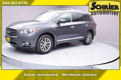 2014 Infiniti QX60 Base Sport Utility 4-Door 14 Infiniti QX 60 Gray 7 Passenger Bose Audio Sunroof AWD Leather Remote Start