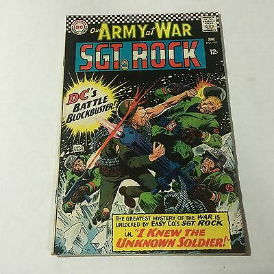 OUR ARMY AT WAR #168 DC Silver Age Key Issue 1st UNKNOWN SOLDIER Appearance B