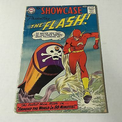 SHOWCASE #13 DC Comics Silver Age Key Issue 3rd Barry Allen Flash RESTORED VG-