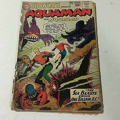 SHOWCASE #31 DC Comics Silver Age Key Issue AQUAMAN Try out issue