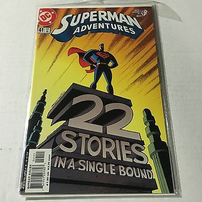 SUPERMAN ADVENTURES #41 DC Sold Out Key Issue 1st Print Near Mint