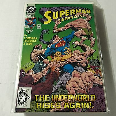 SUPERMAN THE MAN OF STEEL #17 DC 1st Print 1st Appearance of DOOMSDAY RARE VF/NM