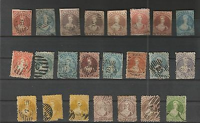 New Zealand Lot Briefmarken Gestempelt