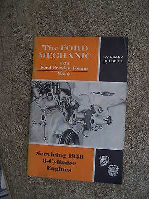 1952 servicing ford truck hydraulic brakes manual ford service forum rh picclick com Ford 3400 Owners Manual PDF Ford Truck Owners Manual