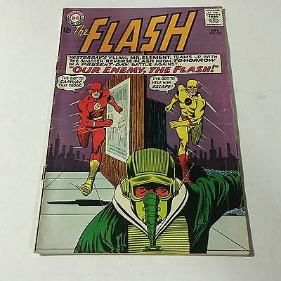 THE FLASH #147 DC Comics Silver Age Key Issue Reverse Flash Race