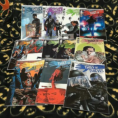 THIEF OF THIEVES #1-12 Complete Lot Set 1st 2nd Print Sold Out Image Kirkman