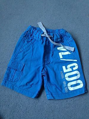 Next Boys Shorts Aged 12-18 Months Blue