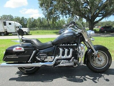 Triumph Rocket III  2009 Triumph  Rocket 3, WINDSHIELD, BACKREST, LUGGAGE RACK, CLEAN, RUNS GREAT