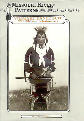Missouri River - Men's Indian Straight Dance Outfit Pattern -Ribbon Instructions