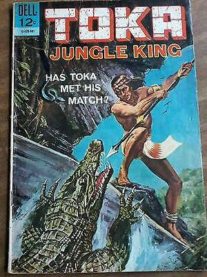 "#2 Toka Jungle King ""has Toka Met His Mstch?"" Nov.-Jan. 1965"