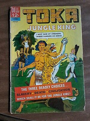 "#6 Toka Jungle King ""three Deadly Choices... Slavery-Death-Civilization Jan. 196"