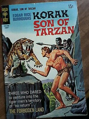 #24 Korak Son Of Tarzan August 1968