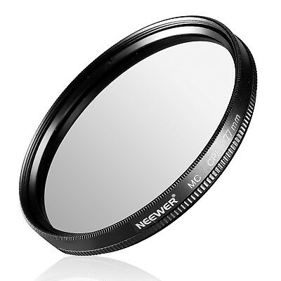 Neewer 77MM CPL Circular Polarizer Filter with Microfiber Cleaning Cloth