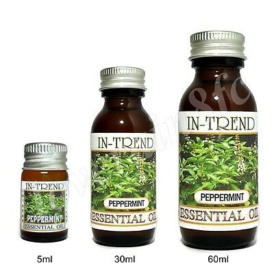 Peppermint Essential Oil 100% Pure & Natural 5ml 30ml 60ml Free Shipping